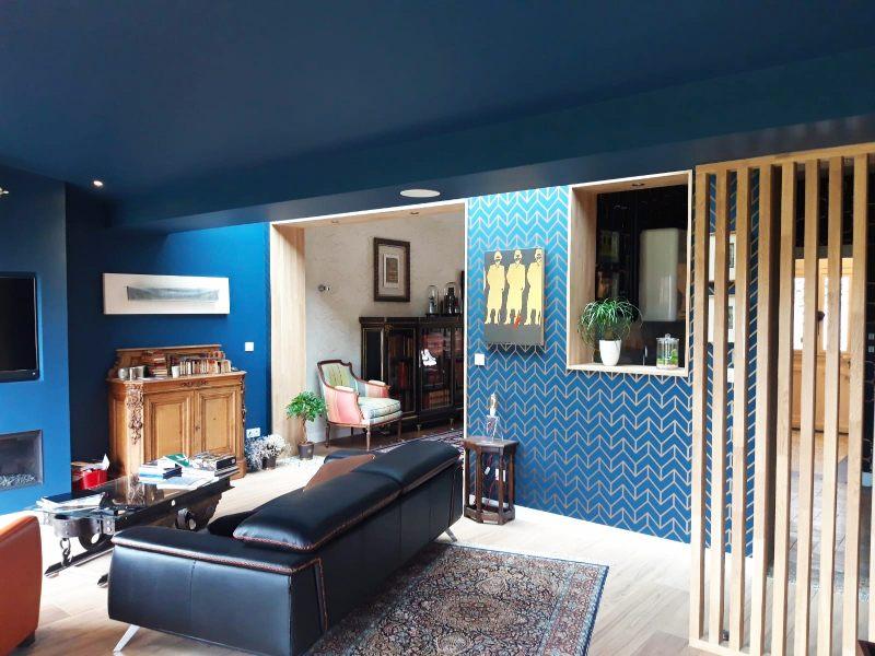 salon bleu papier vyniles-peintures&sols28